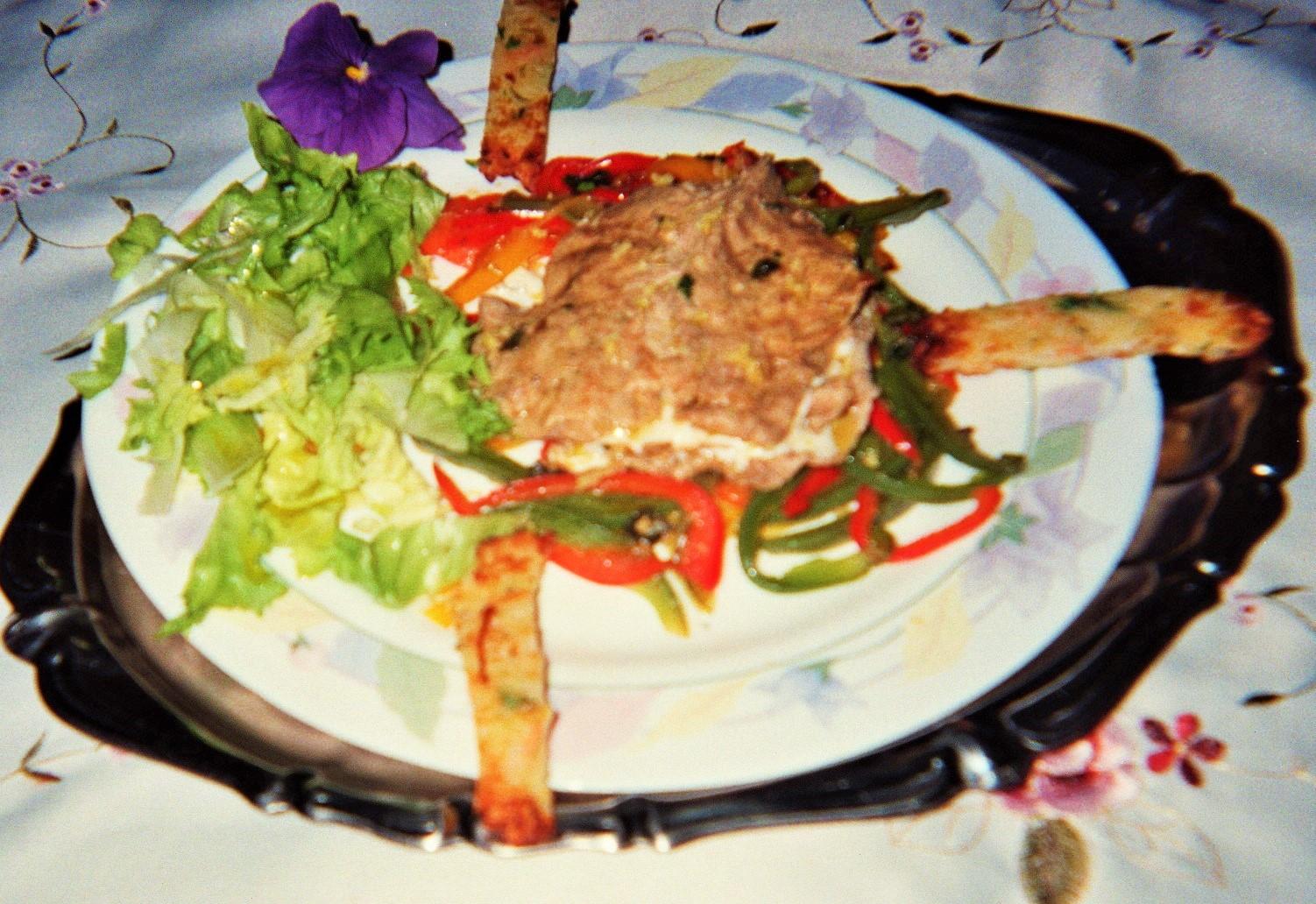 fettine  di carne imbottite