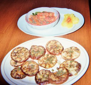 tortiglioni-al-gorgonzola-e-contorno-di-melanzane